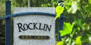Rocklin sign